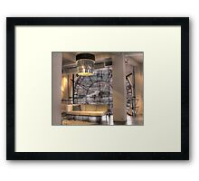 Clockwork Glance Framed Print