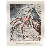 LEntente Cordiale 1915 Poster