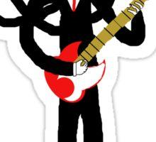 Fender man Sticker