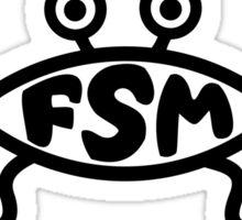 Flying Spaghetti Monster logo Sticker