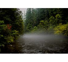 Fog On The Water Photographic Print