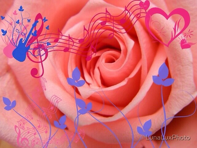 Music in pink by LunaLuxPhoto