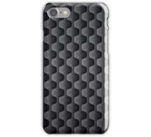 Black And Gray Geometric Shapes Pattern iPhone Case/Skin