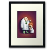 Mad About Basketball Framed Print