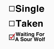 Waiting for a Sour Wolf Unisex T-Shirt