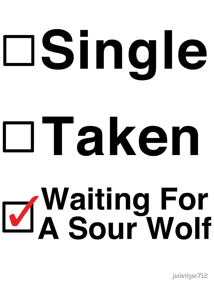 Waiting for a Sour Wolf by Jessica Becker