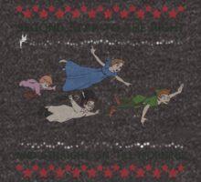Peter Pan Ugly Christmas Sweater T-Shirt