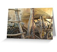 Bicycles  Greeting Card