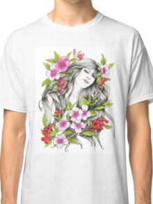 Tangled - Watercolor & ink Illustration  Classic T-Shirt