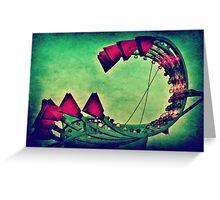 Creepy Carnival Greeting Card