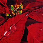 New Year's Poinsettia by Leslie Gustafson
