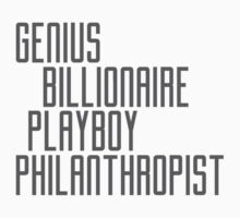 Genius Billionaire Playboy Philanthropist [Dark] by EdwardDunning