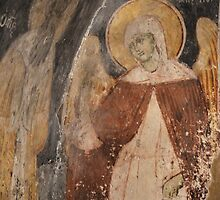 Fresco - Sv Naum, Ohrid by distracted