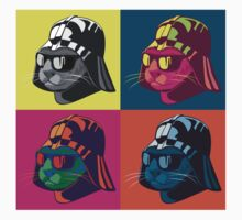Darth Kitty Pop Kids Tee