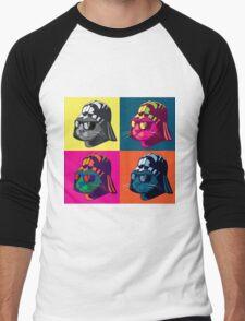 Darth Kitty Pop Men's Baseball ¾ T-Shirt
