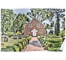 St. Thomas Episcopal Church 2 (HDR) Poster
