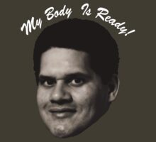 MY BODY IS REGGIE- TEXT by yolklabs
