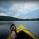 Kayaking in Maine by Debbie Robbins