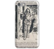 Star Garter Home for totally disabled soldiers and sailors 464 iPhone Case/Skin