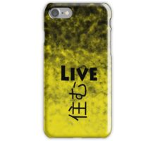 Live iPhone Case/Skin