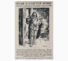 Star Garter Home for totally disabled soldiers and sailors 464 One Piece - Long Sleeve