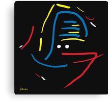 Tribal Beat Colour Canvas Print