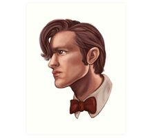 Eleventh Doctor Art Print