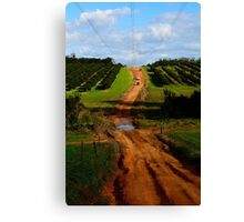 4wd fruit trees 2 Canvas Print