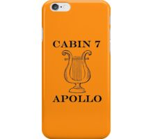 Camp Halfblood - Apollo Cabin iPhone Case/Skin