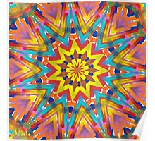 Kaleidoscope Series Number 7 Poster