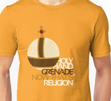 Holy Hand Grenade: Now That's Religion Unisex T-Shirt
