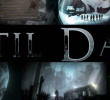 Until Dawn Collage  Sticker