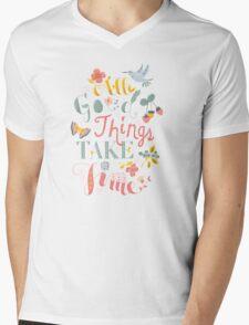 All Good Things Mens V-Neck T-Shirt