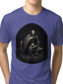 Two Wings and a Prayer Tri-blend T-Shirt