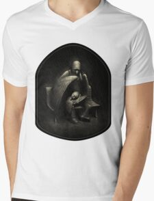Two Wings and a Prayer Mens V-Neck T-Shirt