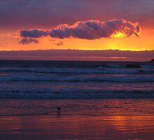 Sunset at Louisa Bay by Langana