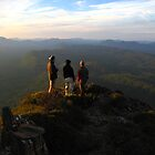 Wyld's Craig - the view south at dawn by Langana