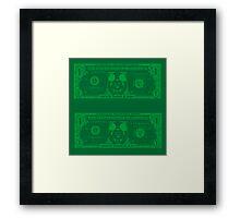 Disney Dollars Framed Print