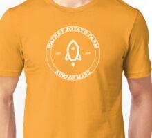 the martian - 'watney potato farm' emblem minimalist typography Unisex T-Shirt