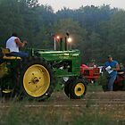 Tractor Pulls At The County Fair by Geno Rugh