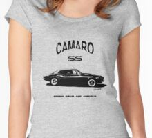 Camaro SS v2 Women's Fitted Scoop T-Shirt