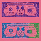 Disney Dollars III by PrinceRobbie