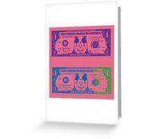 Disney Dollars III Greeting Card