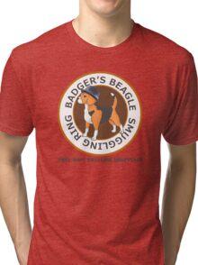 Badger's Beagle Smuggling Ring V2.5 Tri-blend T-Shirt