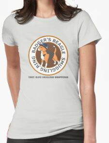 Badger's Beagle Smuggling Ring V2.5 Womens Fitted T-Shirt