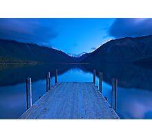 Dawn at Lake Rotoiti Photographic Print
