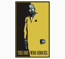 The One Who Knocks - STICKER by WinterArtwork