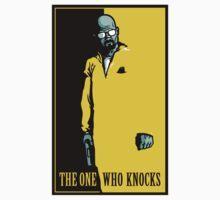 The One Who Knocks - STICKER by WinterArtwork