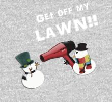 GET OFF MY LAWN!!!! One Piece - Long Sleeve