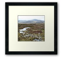 High Country Stream Framed Print